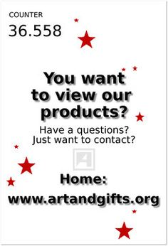 You want to view our products? Art & Gifts