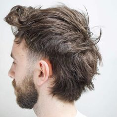 Temple fade mohawk that feels like a mullet #menshair #menshair2018 #menshair2019 #menshairstyles #menshairtrends #menshairstyletrends #bestmenshairstyles #newhairstylesformen #mohawk #mullet #mohalkmullet #templefade Mullet Haircut, Mullet Hairstyle, Mohawk Mullet, Haircut Styles, Undercut Hairstyle, Short Undercut, Mohawk Hairstyles Men, Feathered Hairstyles, Hairstyles 2018
