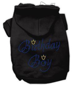 Birthday Boy Rhinestone Hoodies