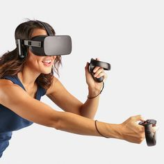 VR Headset System by Oculus Rift, that feels like a real world with Oculus Rift, you can immerse in the world of Virtuality. It's developed by Oculus VR Virtual Reality Games, Virtual Reality Headset, Augmented Reality, Vr Headset, Vr Games, Wearable Technology, Technology News, Cool Things To Buy, Stuff To Buy