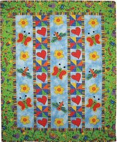 Love Bugs by Heidi Pridemore through McCall's Quilting