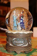 Disney Frozen Musical SnowGlobe Anna Elsa Olaf Let it Go Brand New SOLD OUT