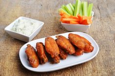 Oz-Approved Comfort Foods - Chicken Wings | Follow this Dr. Oz Recipe board Now and Make it later!