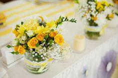 Лимонная свадьба с серым