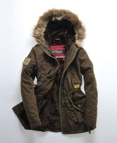I'm over superdry hoodies and tees but love their coats