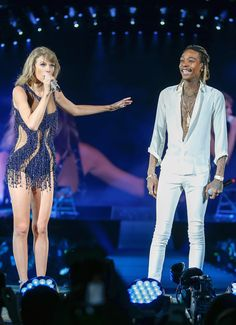 Taylor and special guest Wiz Kalifa performing See You Again during the 1989 World Tour in Houston! 9.9.15