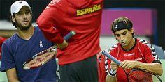 Feliciano, sin papel, será suplente en la final de la Copa Davis.