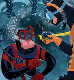 When you're scuba diving, running out of air is scary, but it doesn't mean…