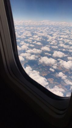 View of the sky from an airplane. by Luis Velasco - Vertical - Stocksy United Sky Aesthetic, Aesthetic Videos, Travel Aesthetic, Aesthetic Pictures, Aesthetic Photography Nature, Nature Photography, Travel Photography, Airplane Window, Airplane View