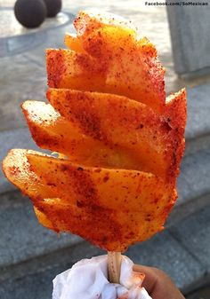 Mango and tajin seasoning on a stick foods to eat pinterest mango on a stick with limon chile bucklet list checked off ccuart Image collections