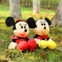 Micky-mouse playing toy.
