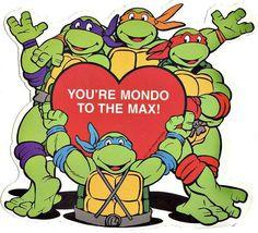 Teenage Mutant Ninja Turtles Valentines Day Coloring Page  Kid at
