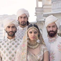 """Indian designer Sabyasachi Mukherjee has launched his latest couture collection for the Spring/Summer 2017 season. Entitled 'The Udaipur Collection' is, the designs are inspired by Rajasthani royalty and include references to maharanis, palaces, stately luncheons, rose gardens, gulaal, The Sheesh Mahal and more.  <em>""""Whether the maharanis in their French chiffon with European flora and fauna print, the maharajas in their quiet arrogance, the exuberant interiors of their majes..."""