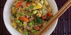 Edamame & Veggie Fried Brown Rice