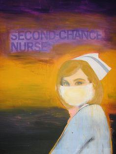 Richard Prince. Nurses series.