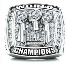 New York Giants Super Bowl 42 Championship Ring. #3