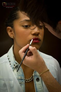 Detras de cmaras sesion fotografica Modelo Sofia Villamizar