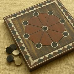 Shisima abstract strategy game, similar to tic-tac-toe