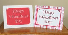 Make your own embroidered Valentines cards Embroidery Tools, Embroidery Patterns, Sewing Patterns, Sewing Class, Make Your Own, How To Make, Valentines, Day, Cards
