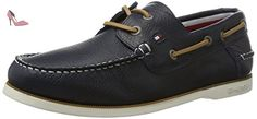 Tommy Hilfiger K2285not 1a, Chaussures Bateau Homme, Bleu (Midnight 403), 43 EU - Chaussures tommy hilfiger (*Partner-Link)