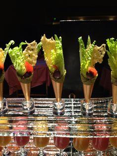 Caesar Salad in Cone