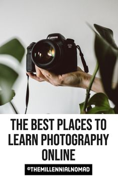 Becoming a good photographer takes time and practice. That is the reason why it is important to keep up with the last techniques and camera equipment that can help you on your creative journey. Those are my top online resources to learn photography. #photographyforbeginners #learnphotography #photographyresources #photographyonline