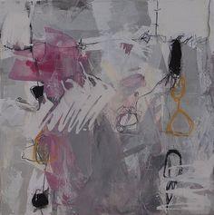 Abstrakte Malerei von Iris Rickart / Unikatbild 208