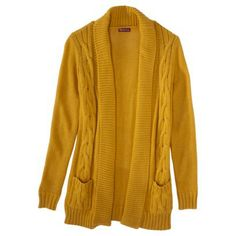 Layer away with this textured cardigan