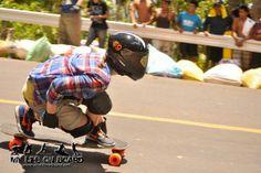 Tamara Prader riding for Loaded Boards.