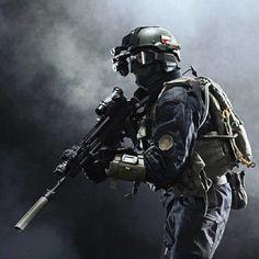 Polish Special Forces (Formoza). Military hobby blog: http://zimhangmen.tumblr.com/