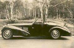 1935 Bugatti T57S Convertible Coupe