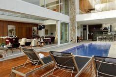 varandas e salas integradas assim eu gosto arquitetura