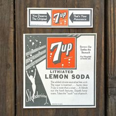 7-Up used to contain lithium