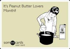 Mmmm peanut butter