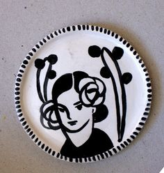 DIADIA plate. Do my own using white plate and sharpies.