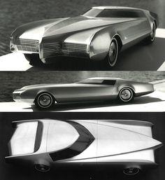 Cadillac XP825 concept car, 1963. Inspiration for the Eldorado and Oldsmobile Toronado