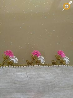 Tatting Lace, Needle And Thread, Lily, Embroidery, Jewelry, Baby Blankets, Diy And Crafts, Towels, Decoration Home