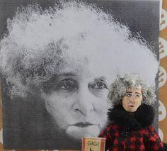 Gabrielle Colette French Writer Nobel Prize Winner Miniature