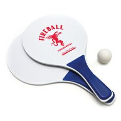 We've got a promotional product that will delight customers at any age! Customize this beach paddle ball game for your next marketing campaign. Also known as kadima, this game includes 2 wooden paddles and 1 ball, packaged in a mesh bag. Price includes 1 color, 1 paddle, 1 side imprint (addtl charge for addtl paddles, sides or color imprints). Great for summer games and vacation destinations!