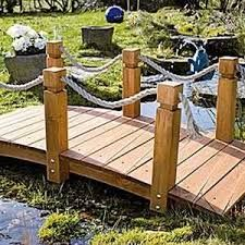 Teak Pond Bridge Garden Hotel - page 1 - Products Photo Catalog Pond Bridge, Garden Bridge, Ponds Backyard, Backyard Landscaping, Backyard Projects, Garden Projects, Jardin Zen Miniature, Garden In The Woods, Outdoor Gardens