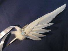 Relic of Archangels - handmade Featherquill by Ganjamira.deviantart.com on @deviantART