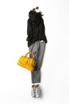 Kyoko Kikuchi's Closet | 春が来た!<br>ギンガムの サブリナパンツで出かけよう