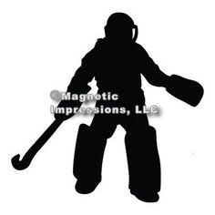 Field Hockey Goalie Quotes Hockey Phrases Field Hockey Quotes - Custom field hockey car magnets