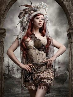 Steam punk lace