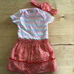 Stripe onsie dress.