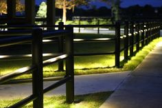 The EquiSafe LED Lighting System is the latest addition to our extensive product line. The lighting fixtures are available in two colors, white or black, to create a nice blend with the customized fence color. The lights use only 1-watt LED light bulbs, and will continue to illuminate for over 50,000 hours.