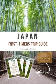 Japan travel guide including itinerary, packing list tips, best apps to use, transportation info & more! #JapanTravelItinerary