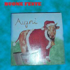 mattonella mucca natalosa