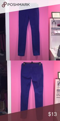 SO Royal blue skinny jean Good used condition, no flaws SO Jeans