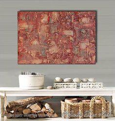 #OriginalArt #Abstract #SculpturePainting #MixedMedia #CanvasArt #Brown #Copper #Large #Art #Contemporary #ModernArt #WallDecor by #JuliaApostolova